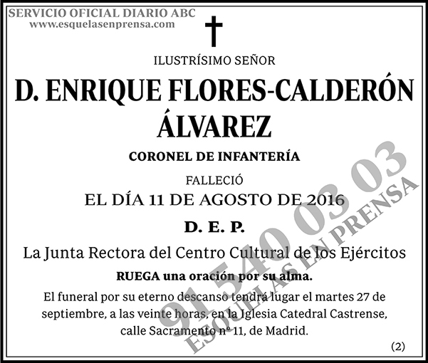 Enrique Flores-Calderón Álvarez